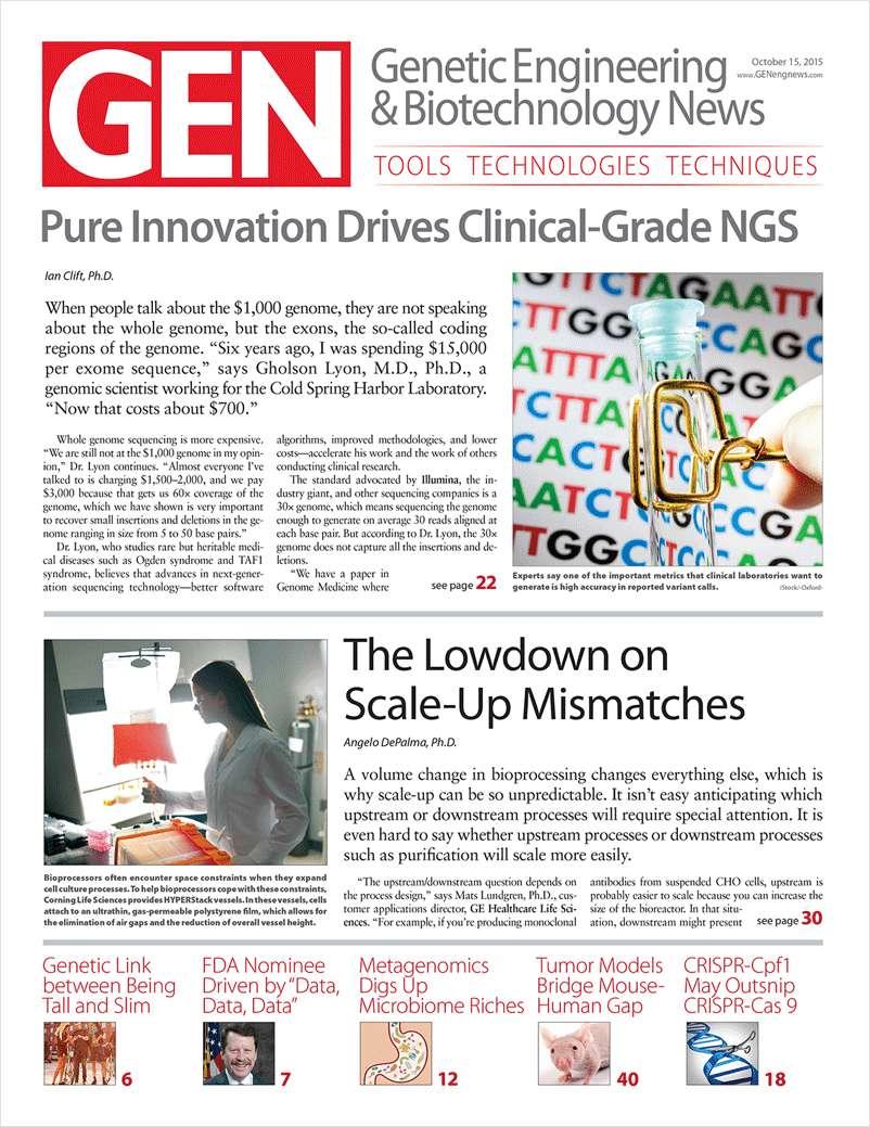 Genetic Engineering & Biotechnology (GEN) Magazine