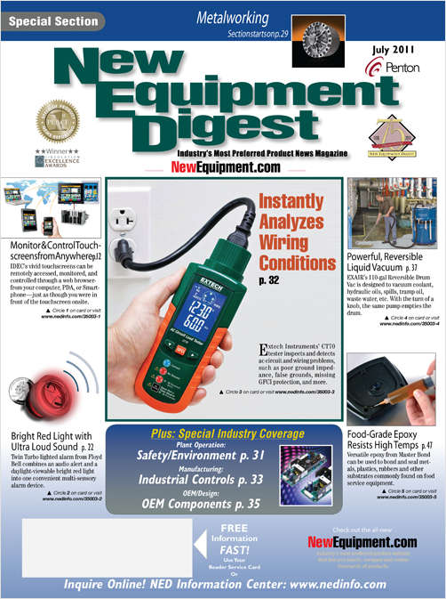 New Equipment Digest