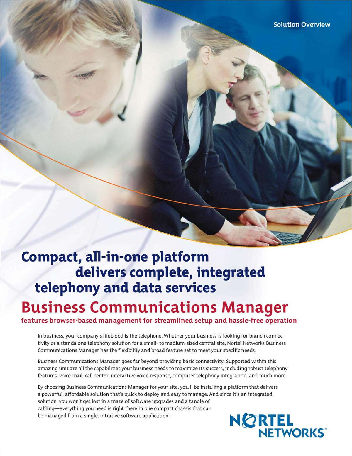 Solve IP Telephony Business Challenges: For SMBs