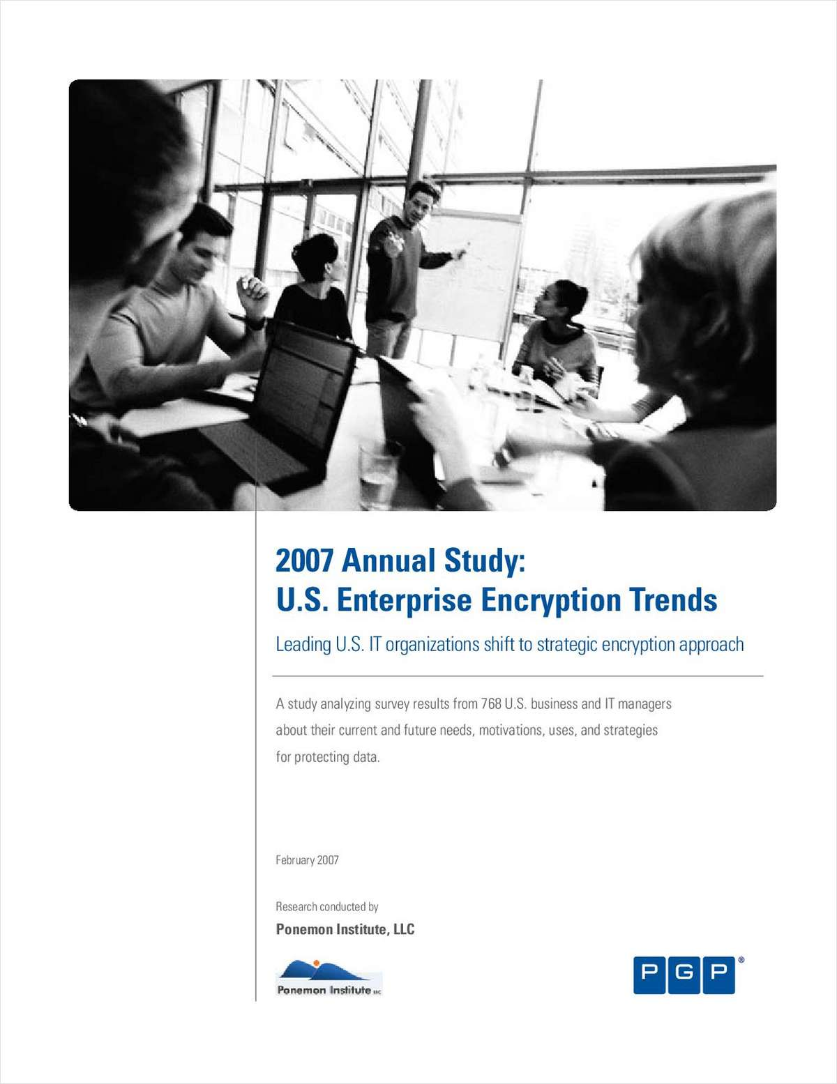 2007 Annual Study: U.S. Enterprise Encryption Trends