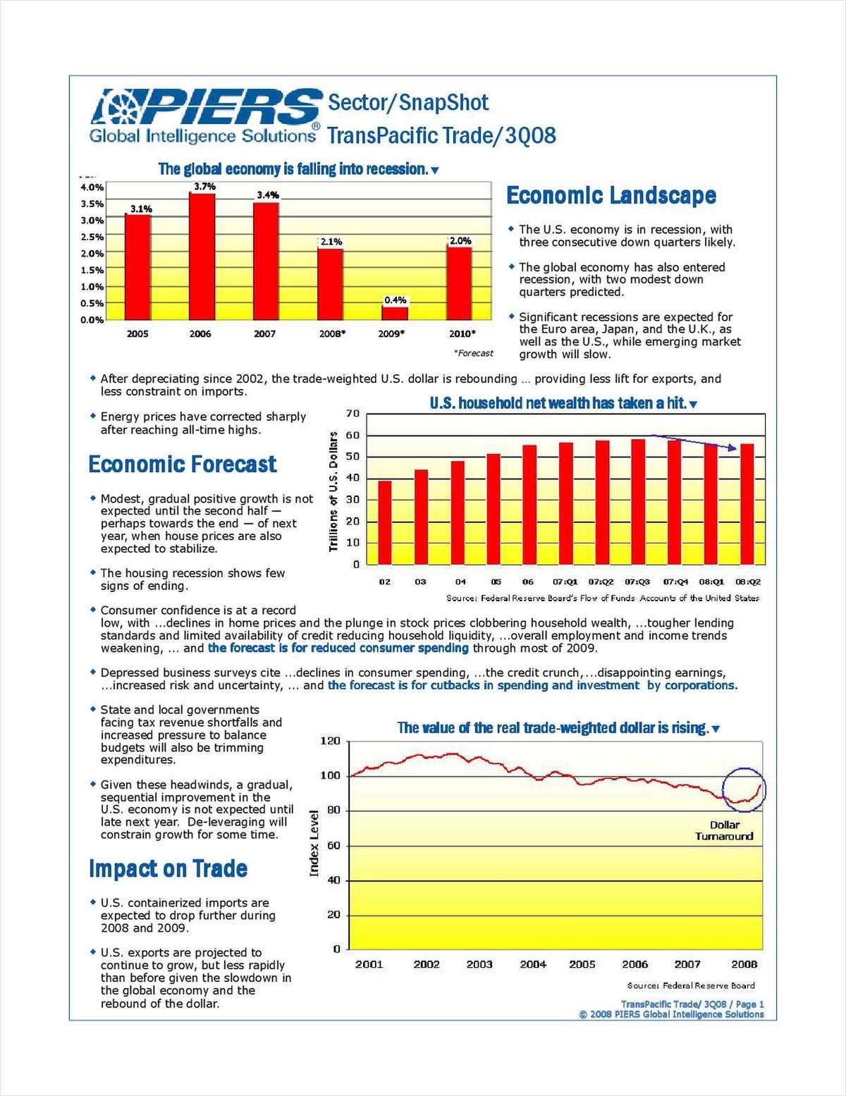 PIERS Sector SnapShot - TransPacific Trade