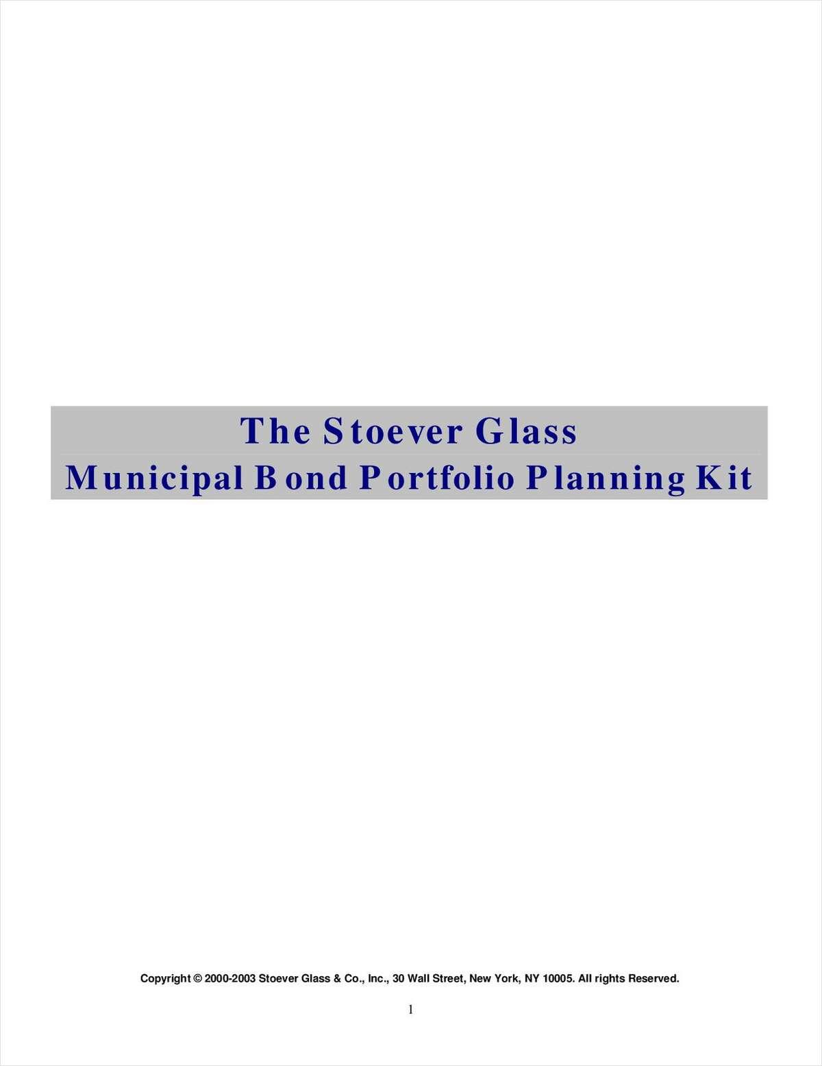 The Stoever Glass Municipal Bond Portfolio Planning Kit