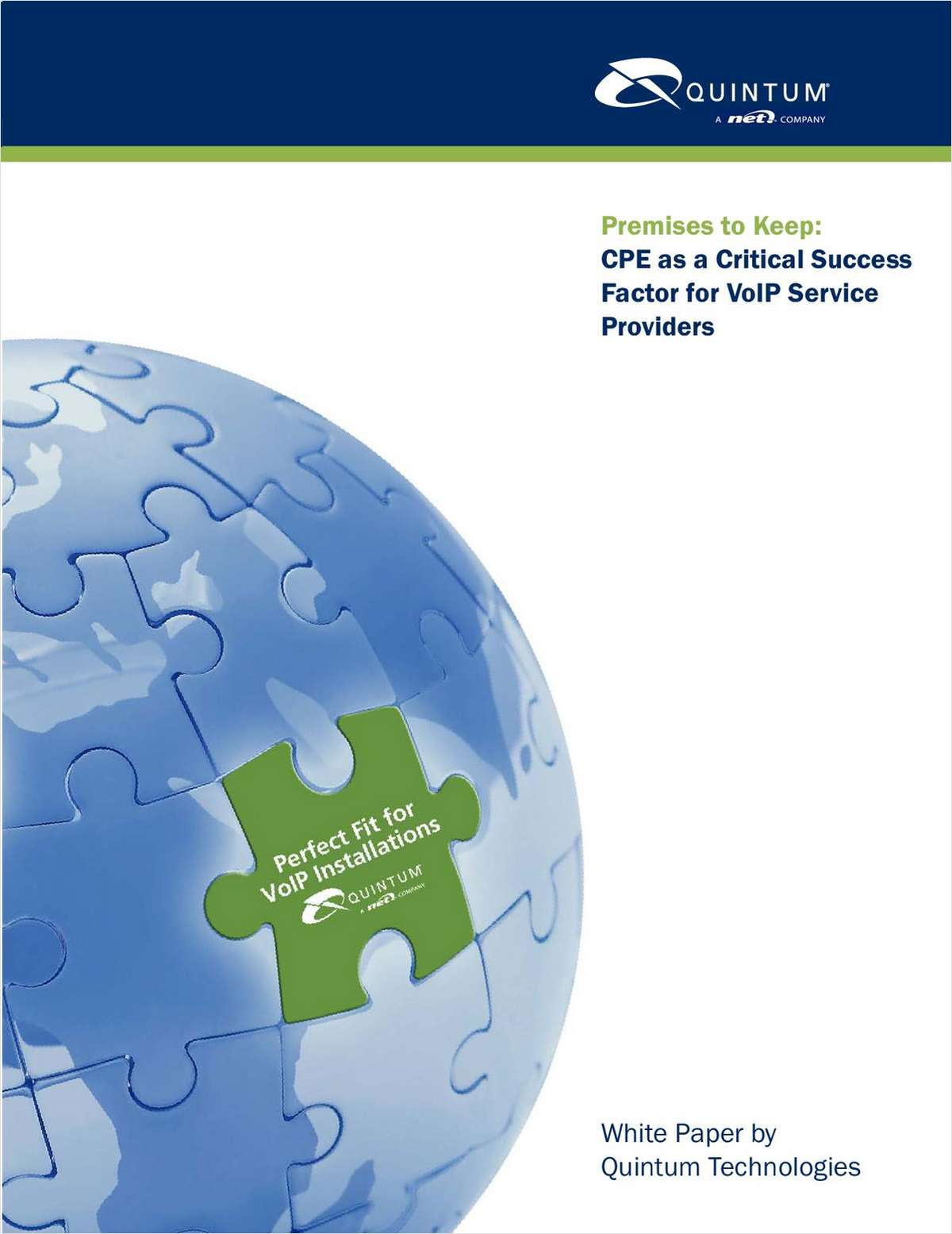 Premises to Keep: CPE as a Critical Success Factor for VoIP Service Providers