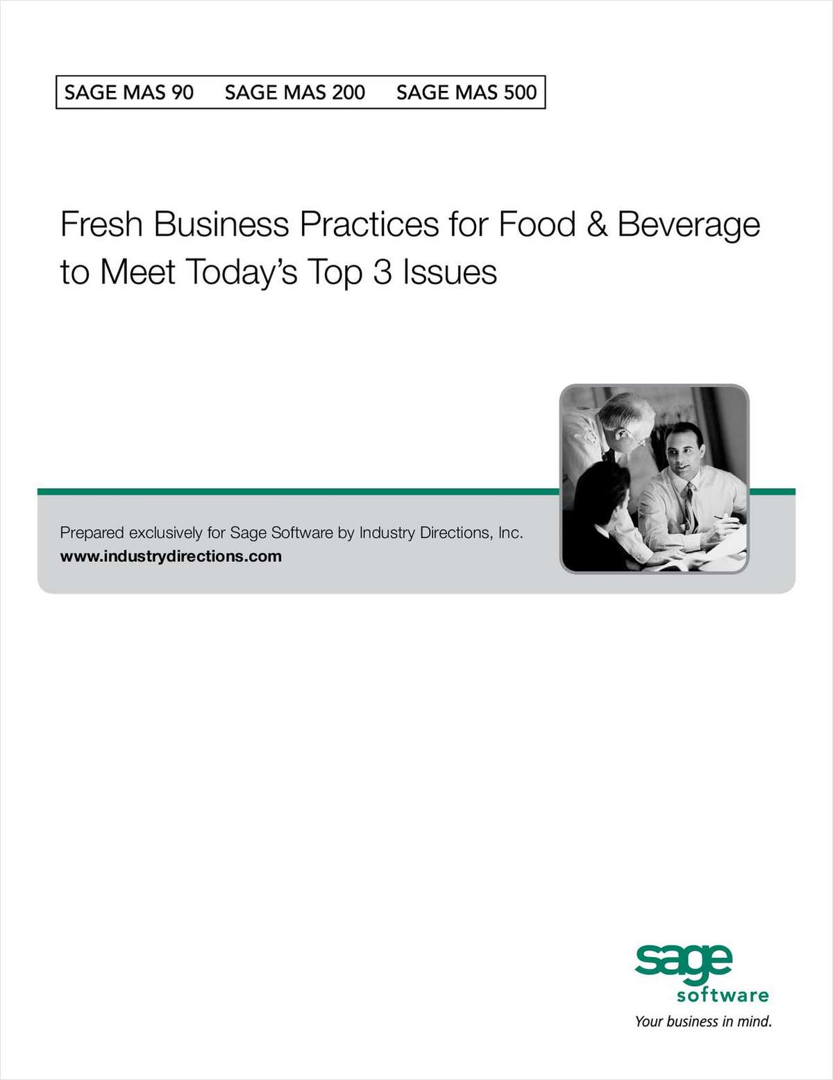Fresh Business Practices for Food & Beverage to Meet Today's Top 3 Issues