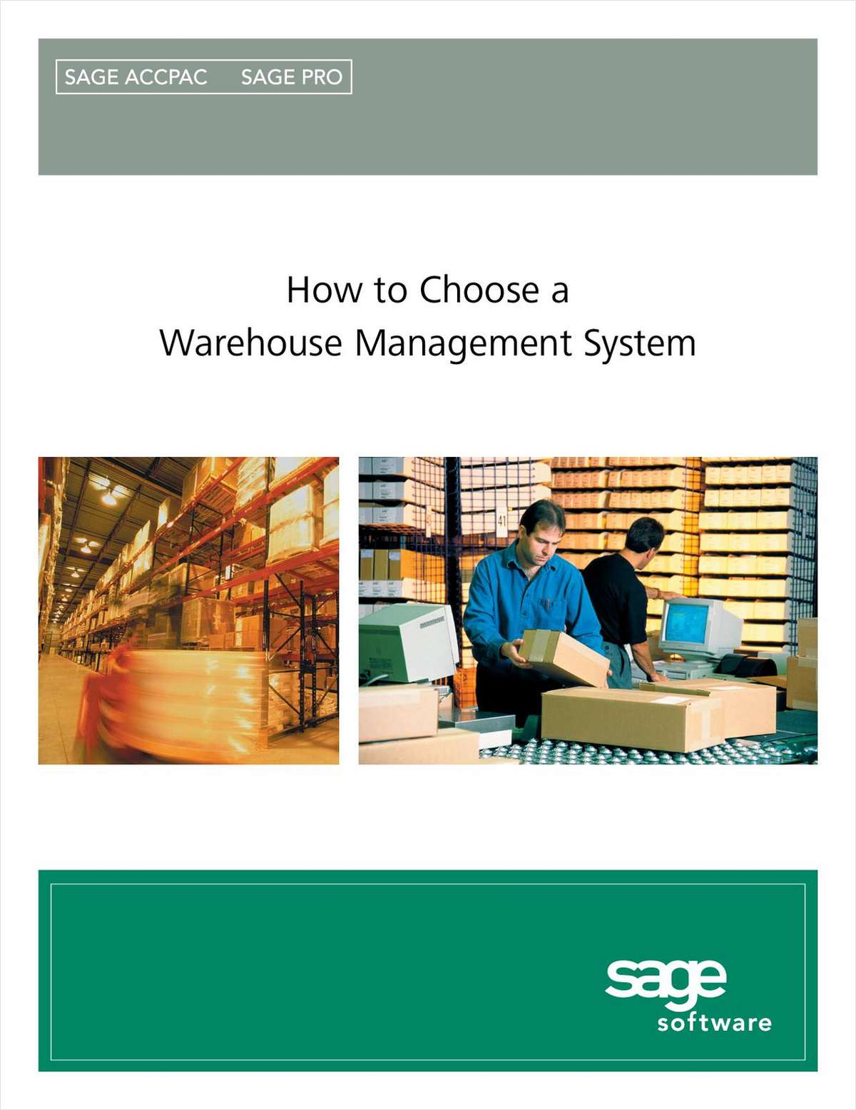How to Select a Warehouse Management Solution