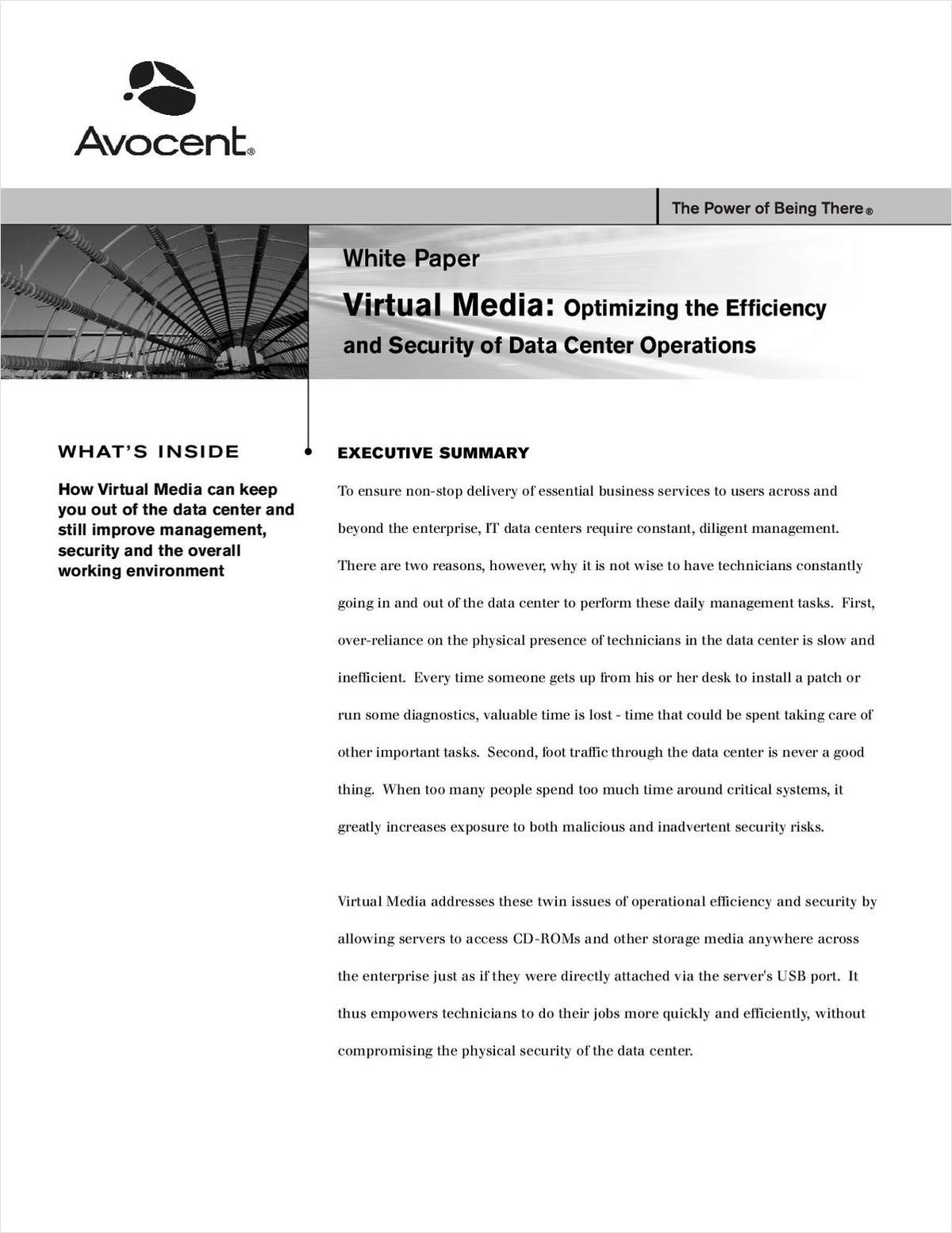 Virtual Media: Optimizing the Efficiency and Security of Data Center Operations