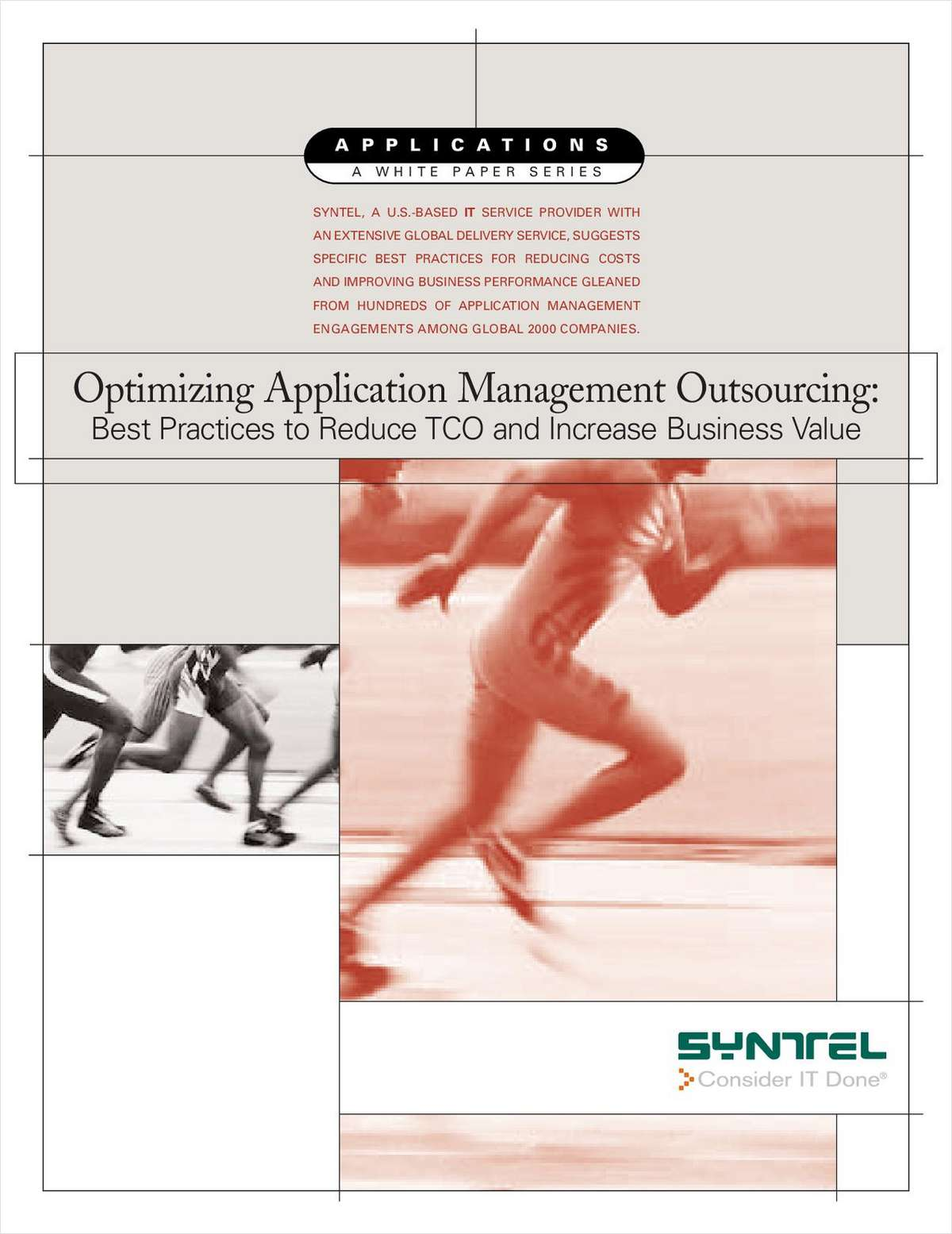 Optimizing Application Management Outsourcing: Best Practices to Reduce TCO and Increase Business Value