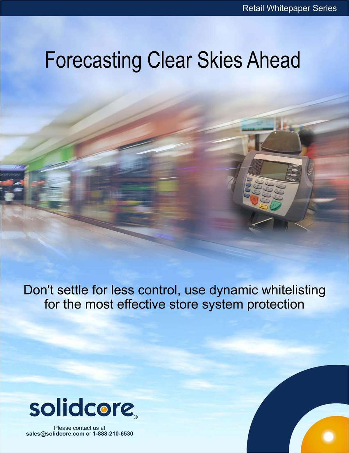Forecasting Clear Skies for Retailers