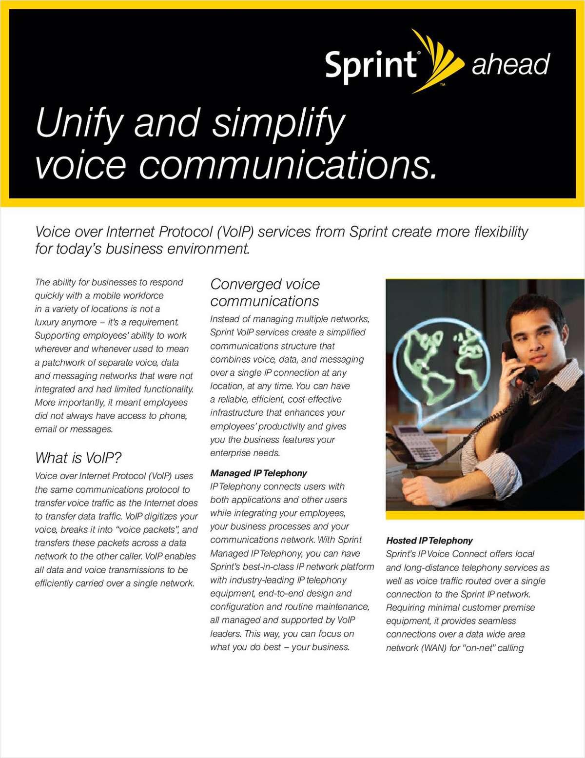 VoIP Fact Sheet