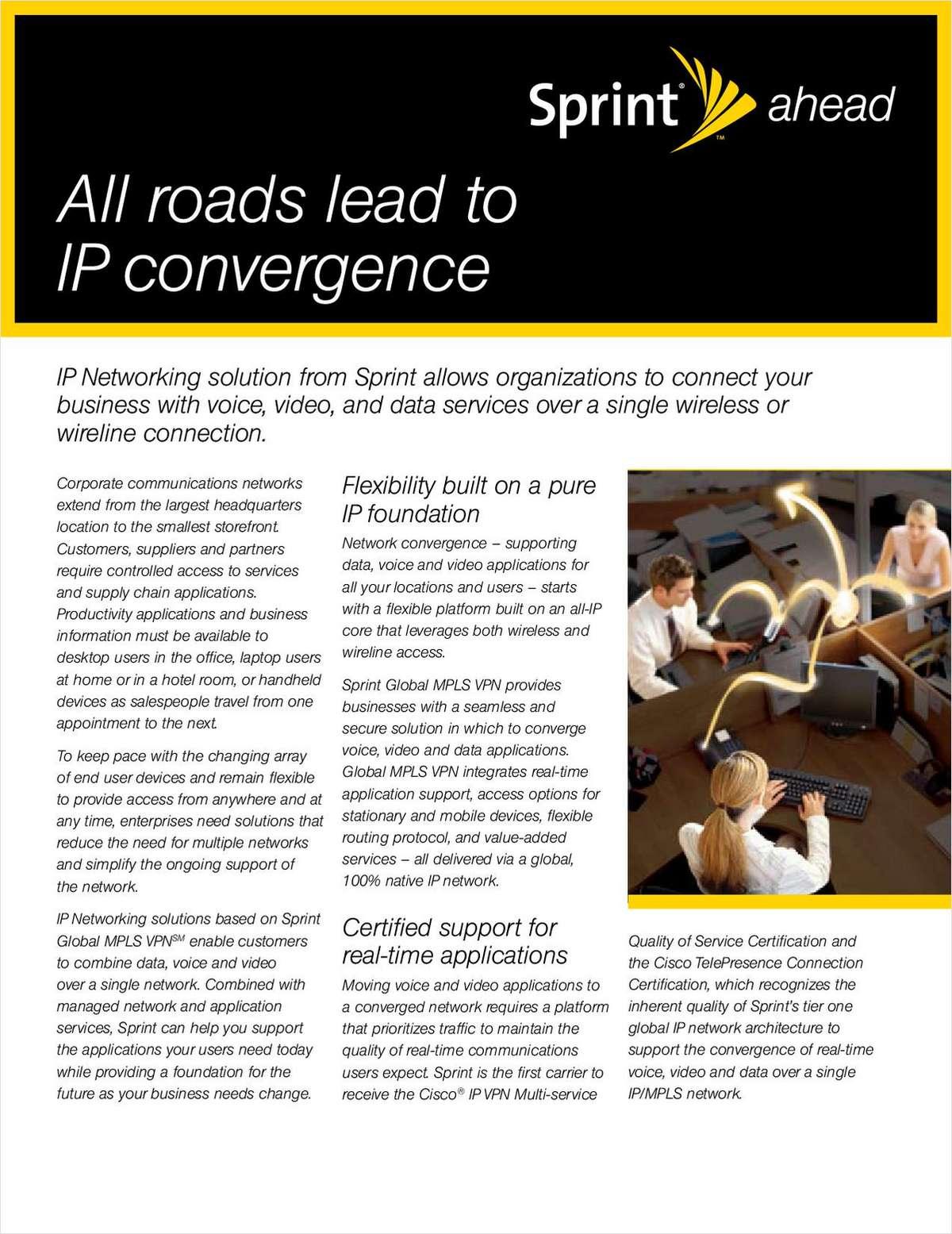 IP Networking Fact Sheet