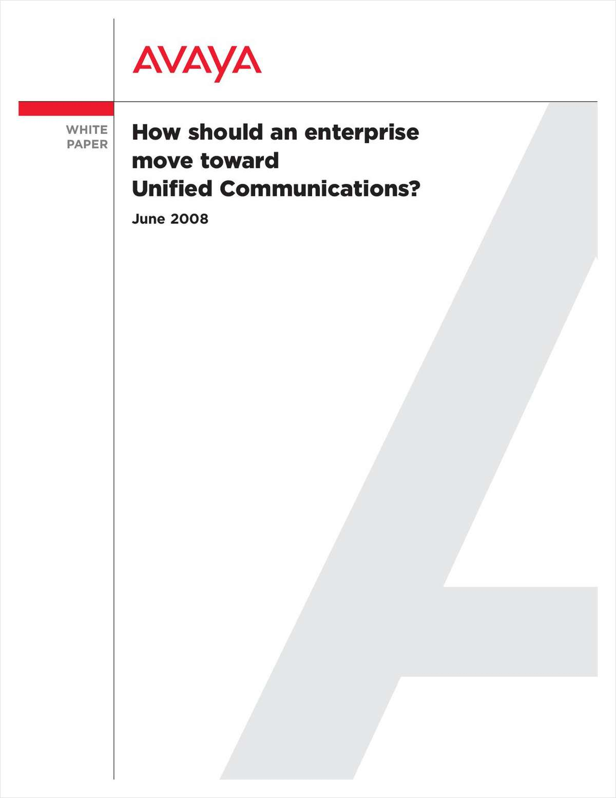 Effective Convergence:  Moving Your Business to Unified Communications