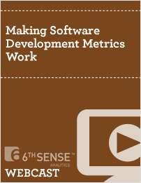 Making Software Development Metrics Work