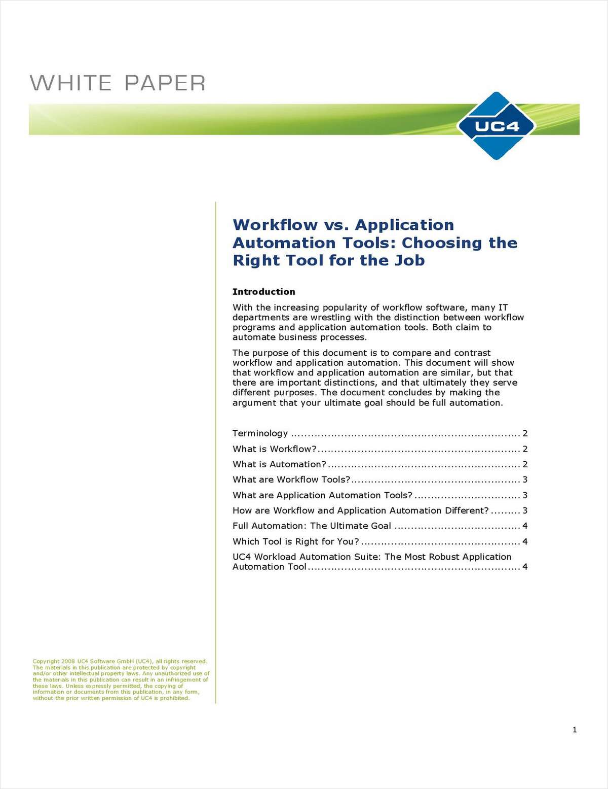 Workflow vs. Application Automation Tools: Choosing the Right Tool for the Job