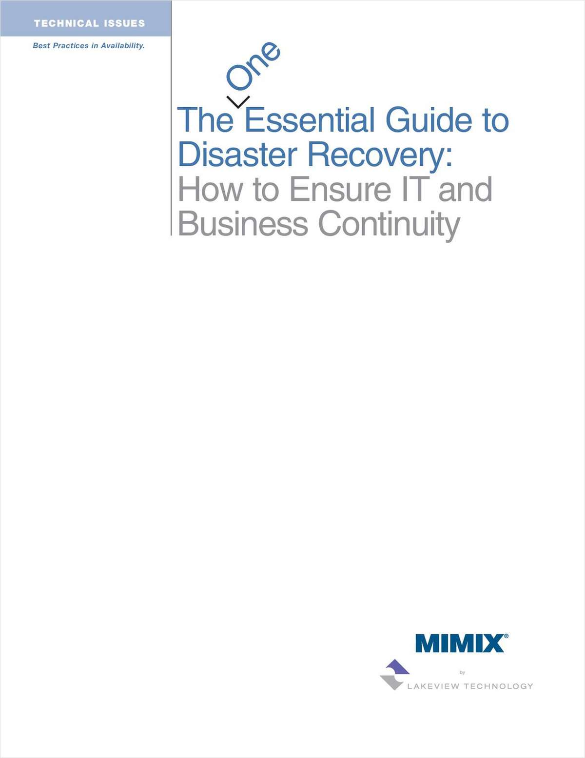 Essential Guide to Disaster Recovery in System i (AS/400) and AIX environments