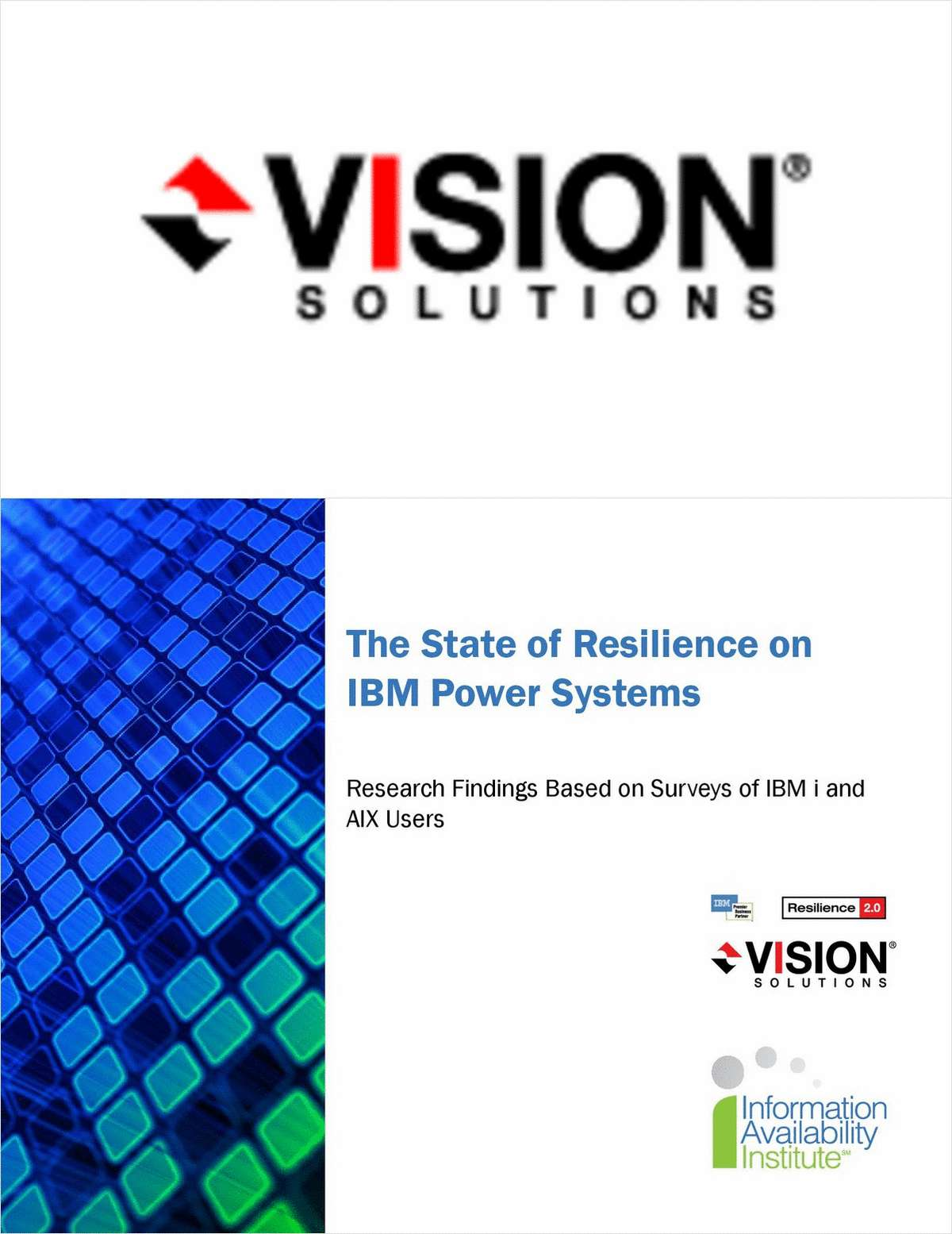 The State of Resilience on IBM Power Systems