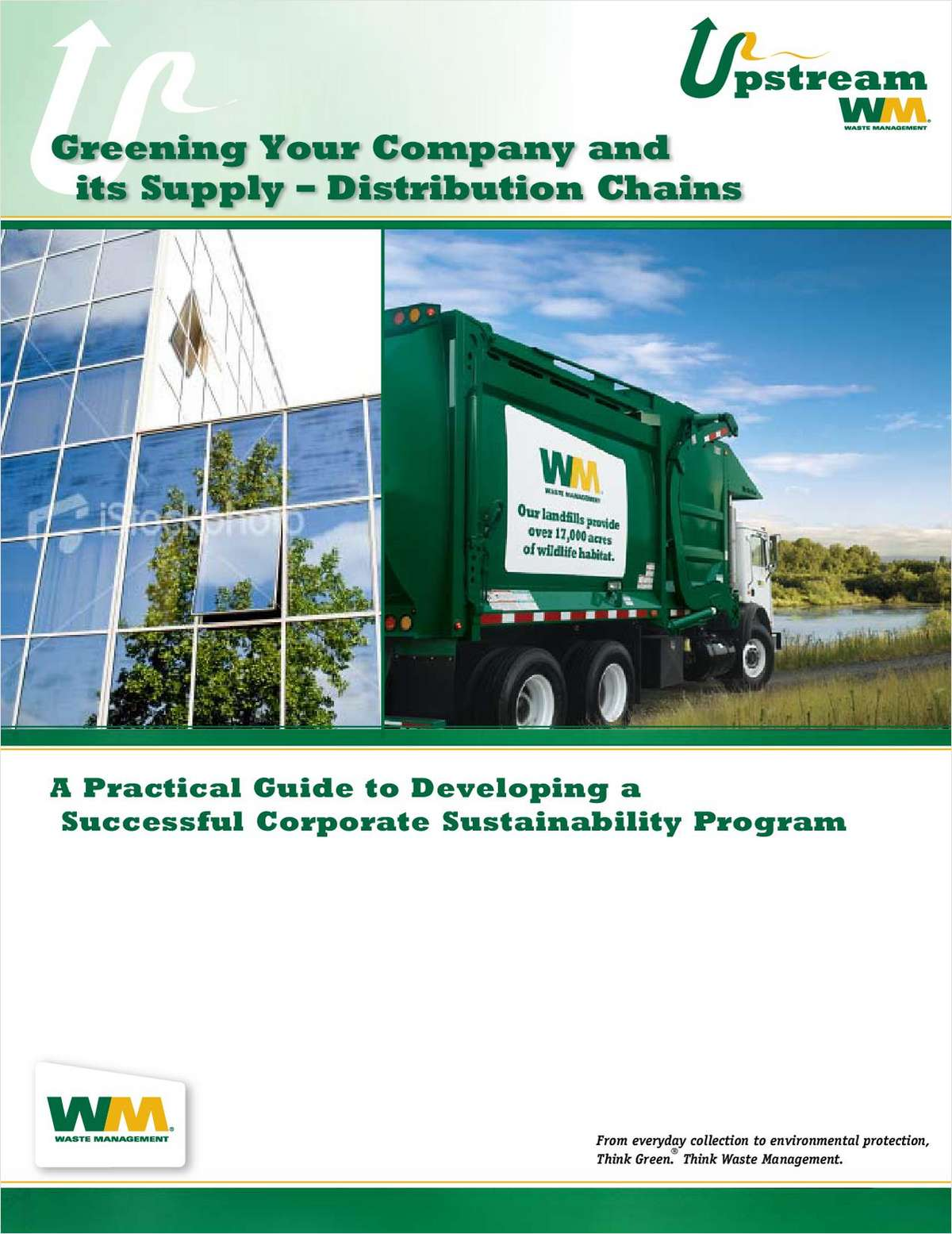Greening Your Organization and It's Supply - Distribution Chains