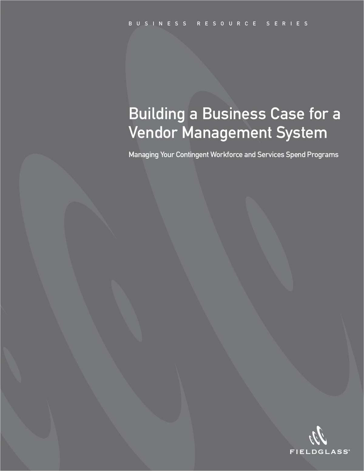 Building a Business Case for a Vendor Management System