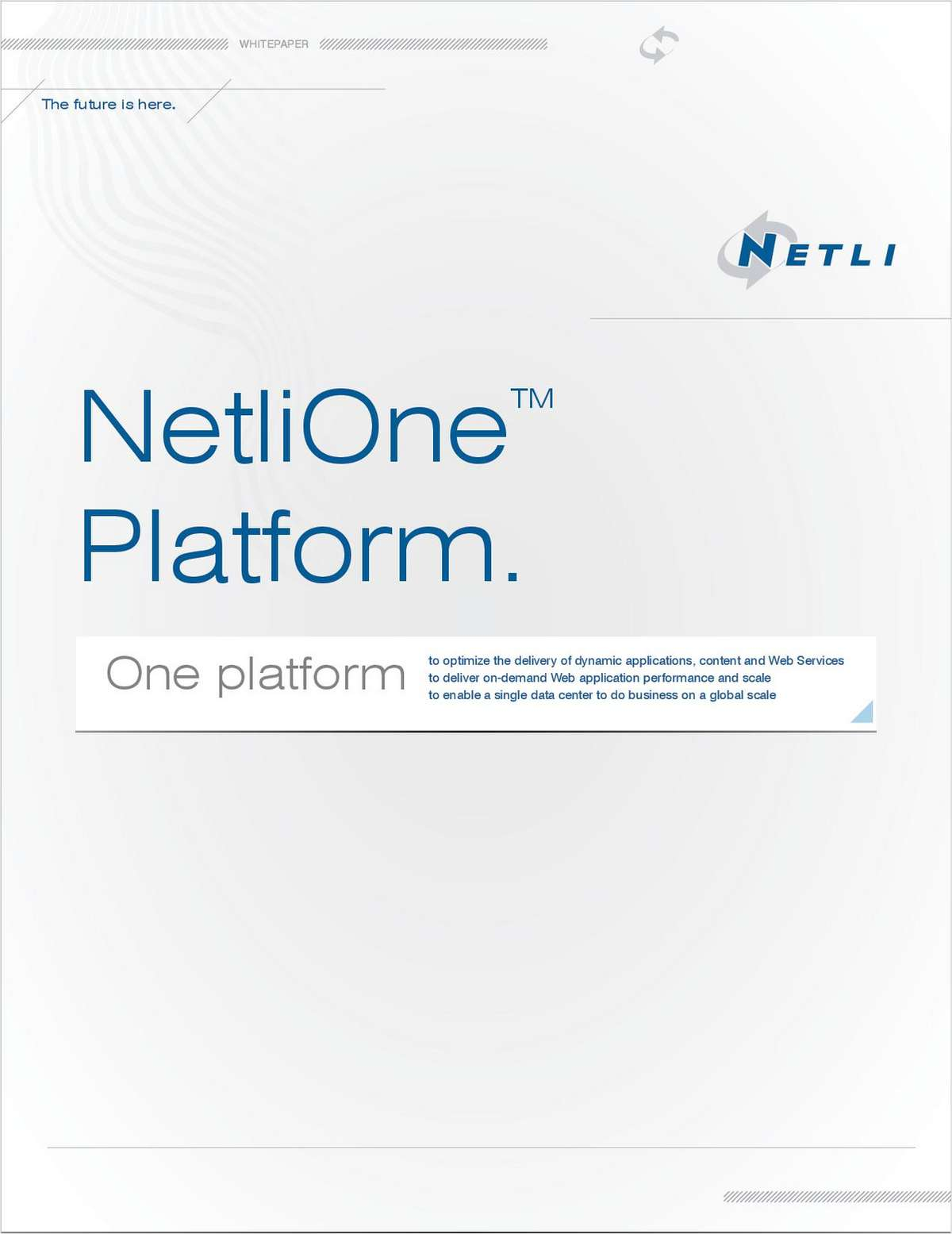 Accelerate the Delivery of Web-Enabled Applications