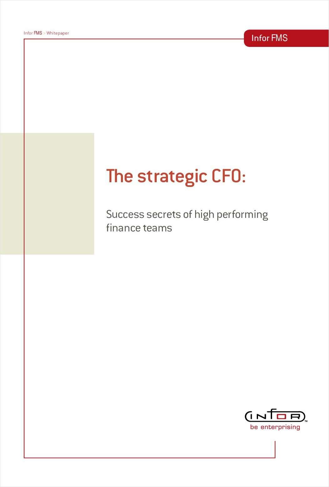 The Strategic CFO: Success Secrets of High Performing Finance Teams
