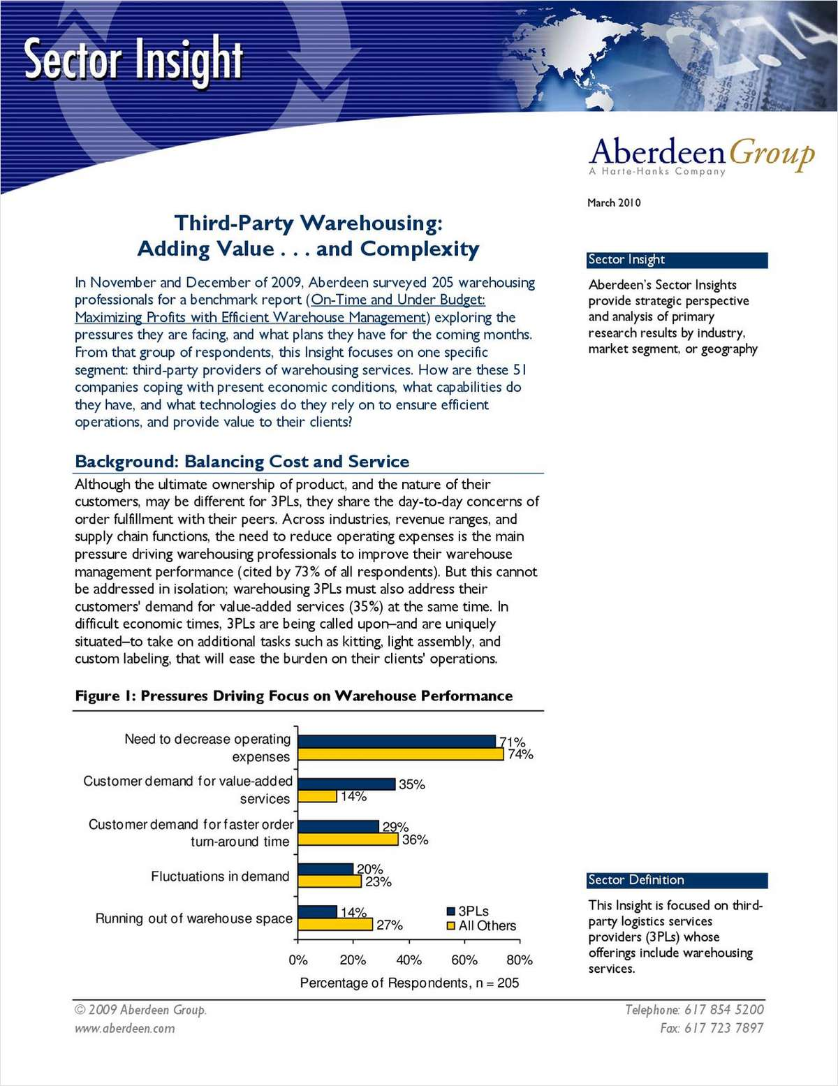 Third-Party Warehousing: Adding Value and Complexity