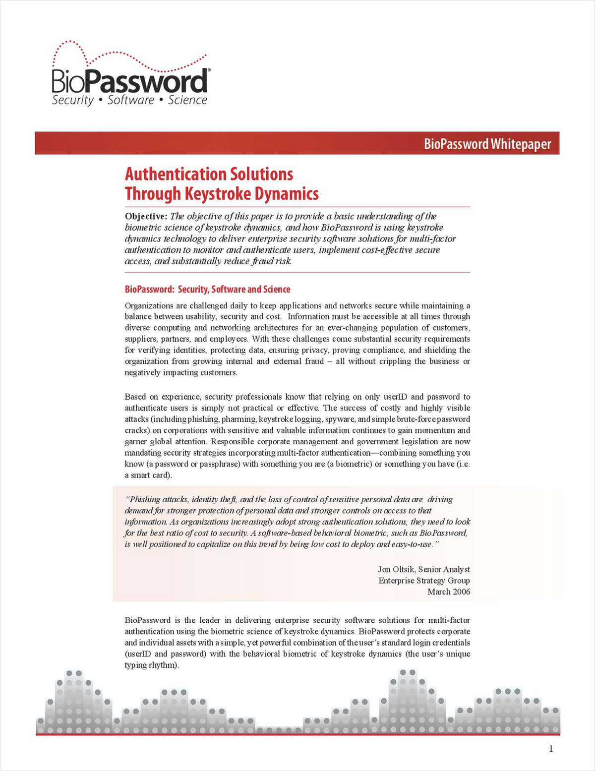 Authentication Solutions Through Keystroke Dynamics