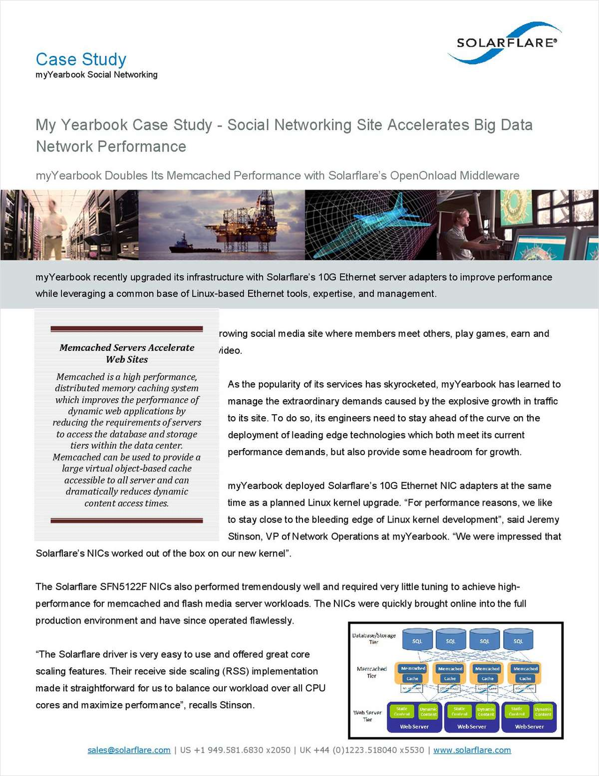 myYearbook Case Study - Social Networking Site Accelerates  Network Performance