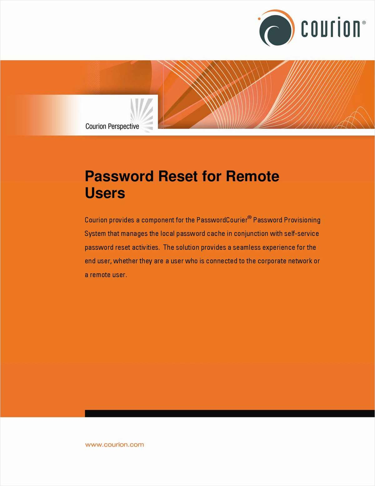 Password Reset for Remote Users