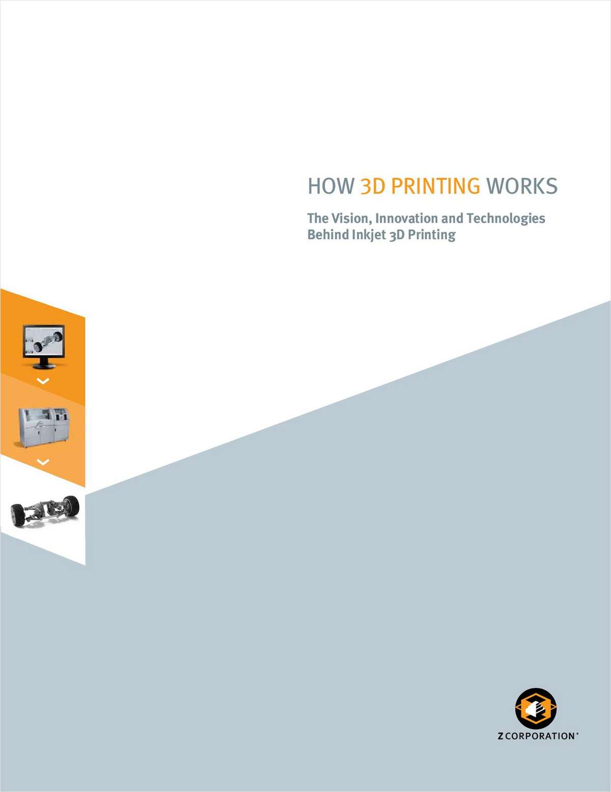 How 3D Printing Works: The Vision, Innovation, and Technologies Behind Inkjet 3D Printing