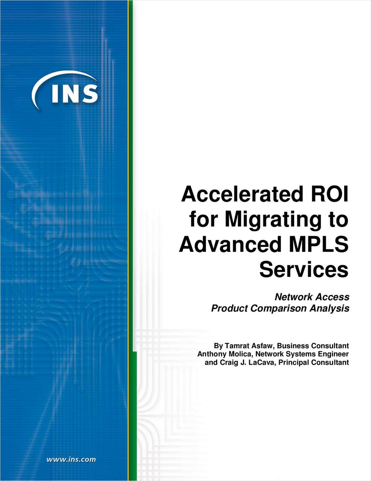 3 Scenarios for ROI - Reduce Total Cost of Ownership with MPLS