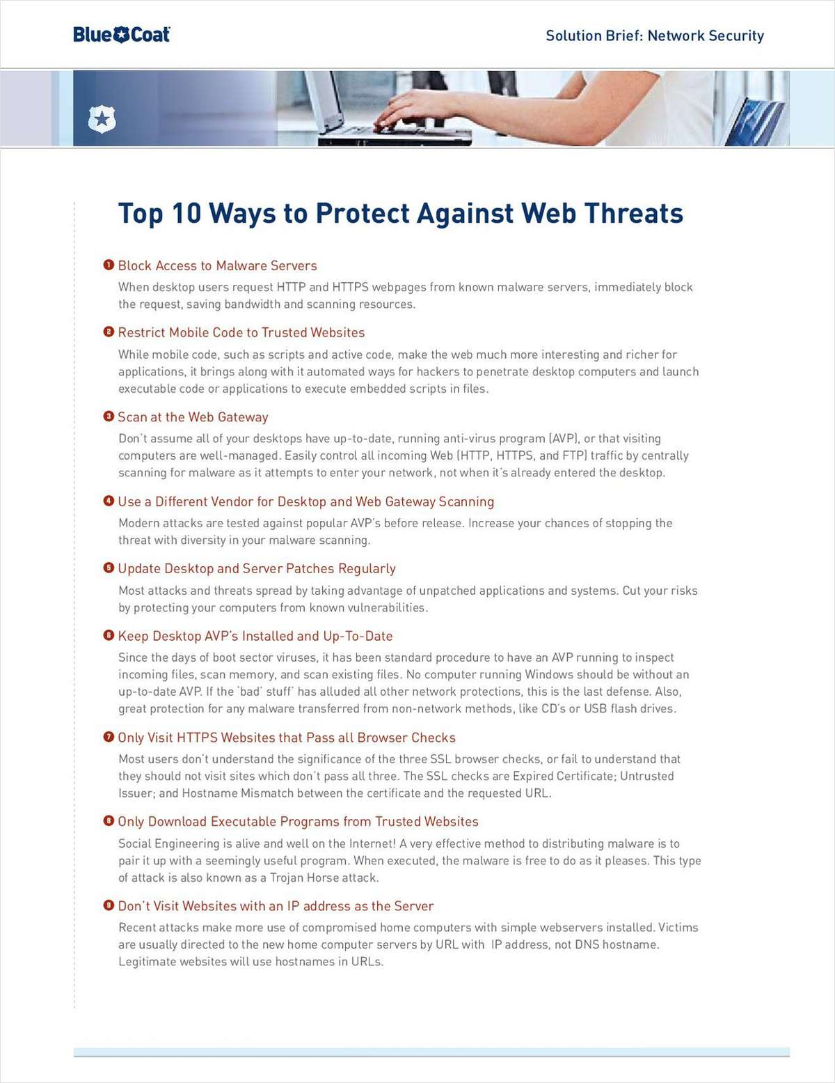 Top 10 Ways to Protect Against Web Threats