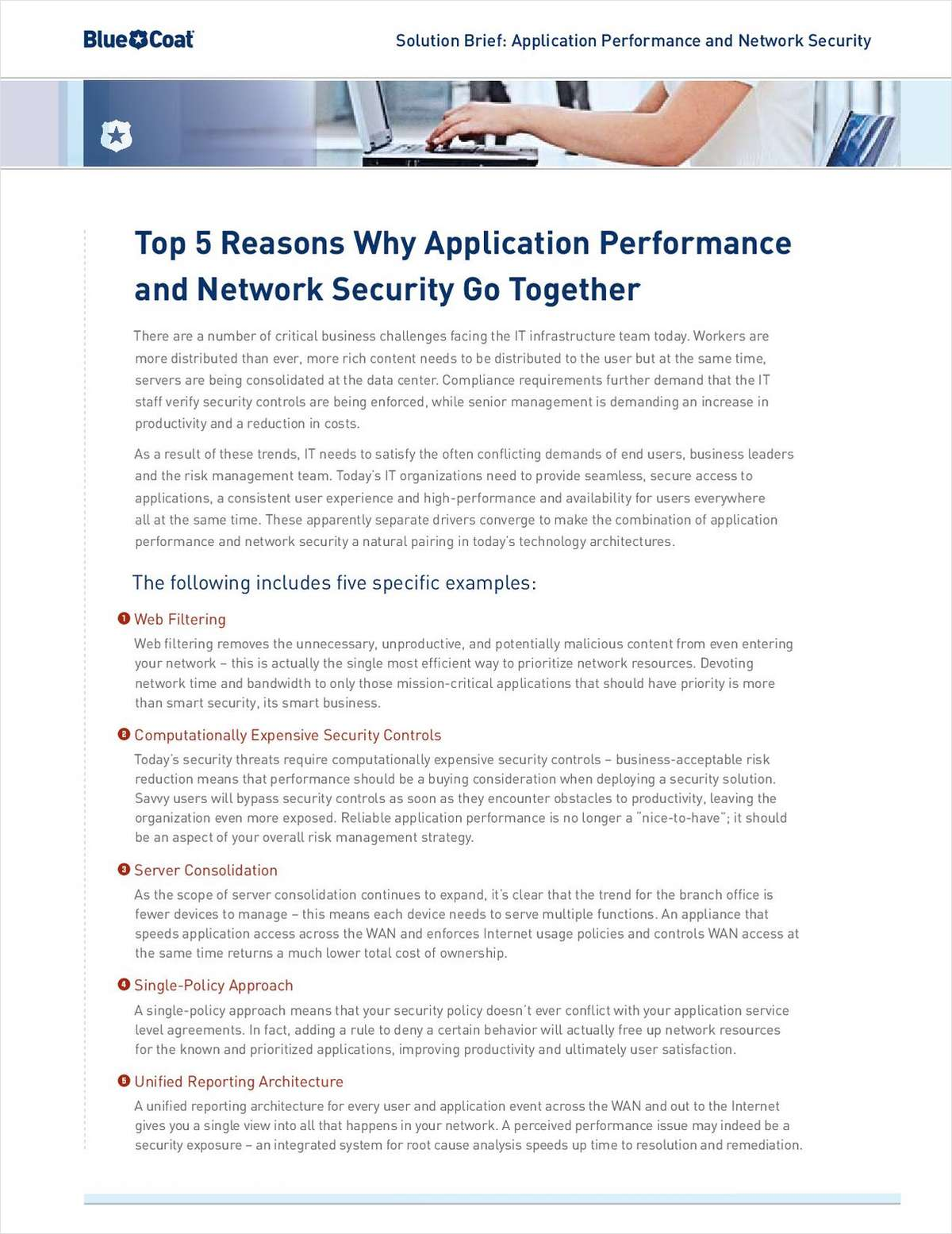 Top 5 Reasons Why Application Performance and Network Security Go Together