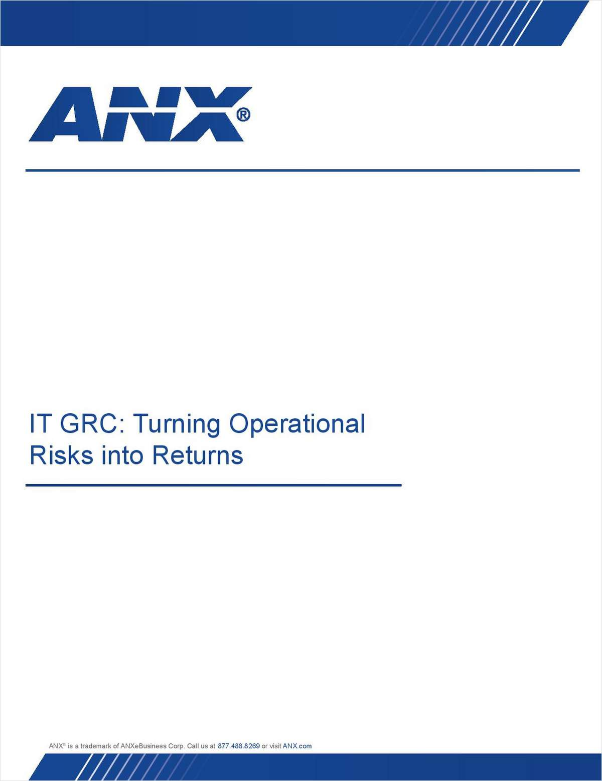 IT GRC Turning Operational Risks into Returns