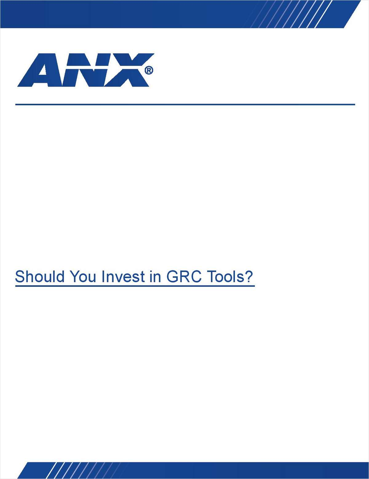 Should You Invest in GRC Tools?