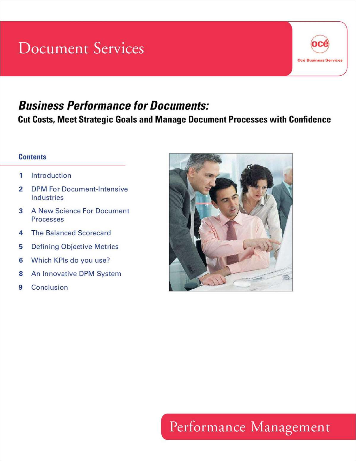 Business Performance Management for Document Processes: Cut Costs, Meet Strategic Goals and Manage Document Processes with Confidence