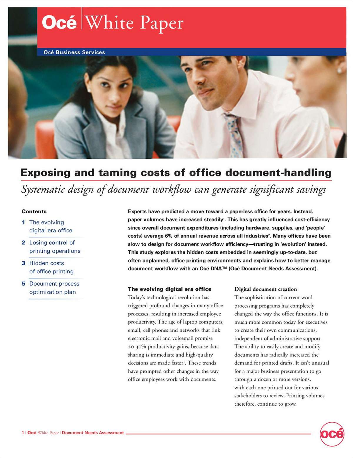 Exposing and Taming Costs of Office Document-Handling