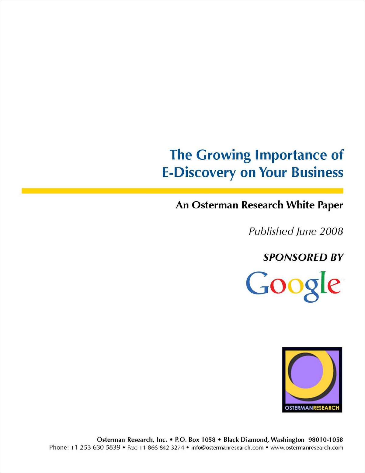 The Growing Importance of E-Discovery on Your Business