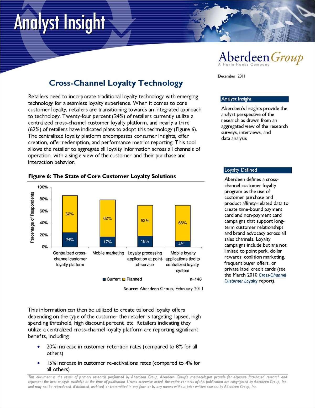 Cross-Channel Loyalty Technology
