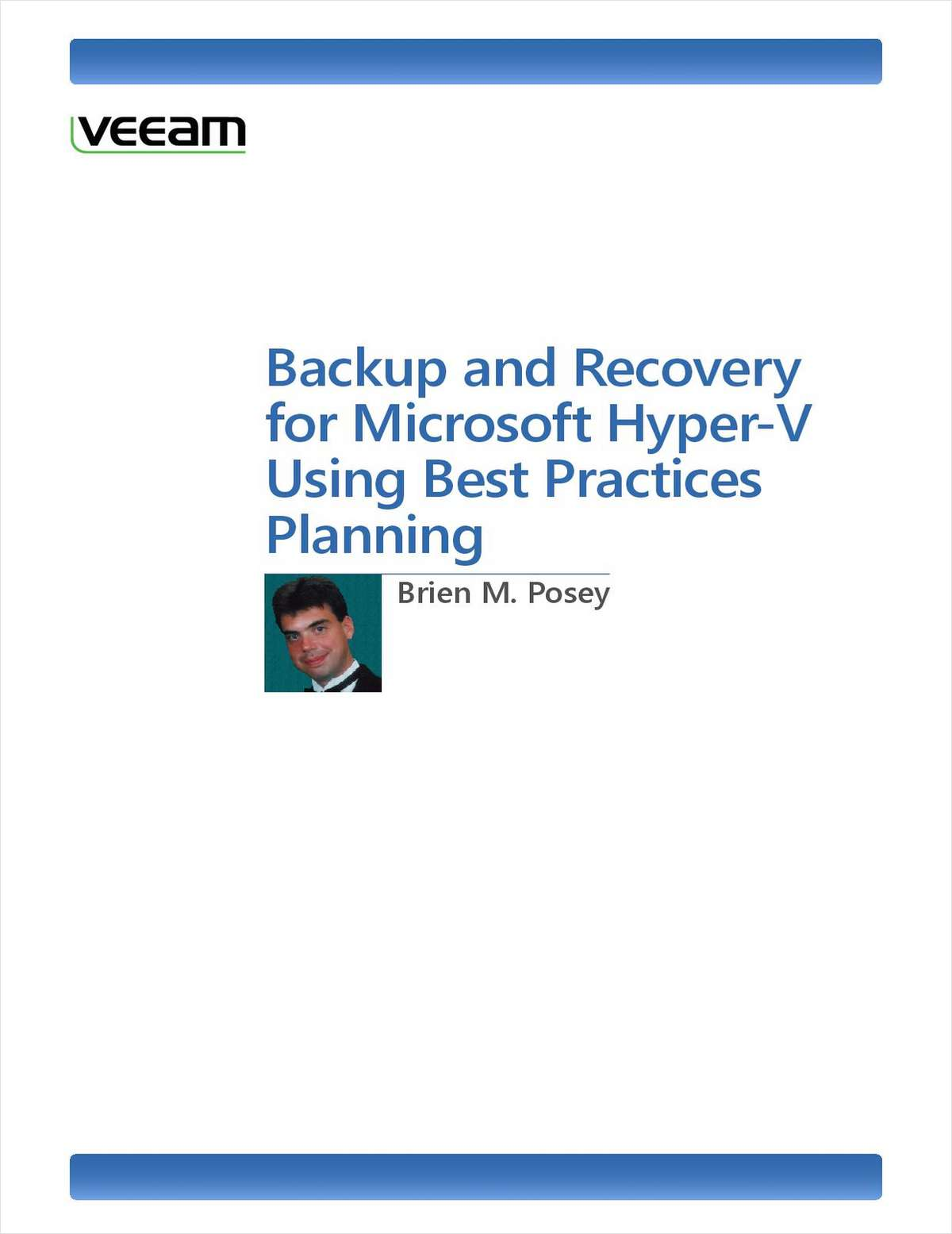 Microsoft Hyper-V Backup and Recovery Best Practices