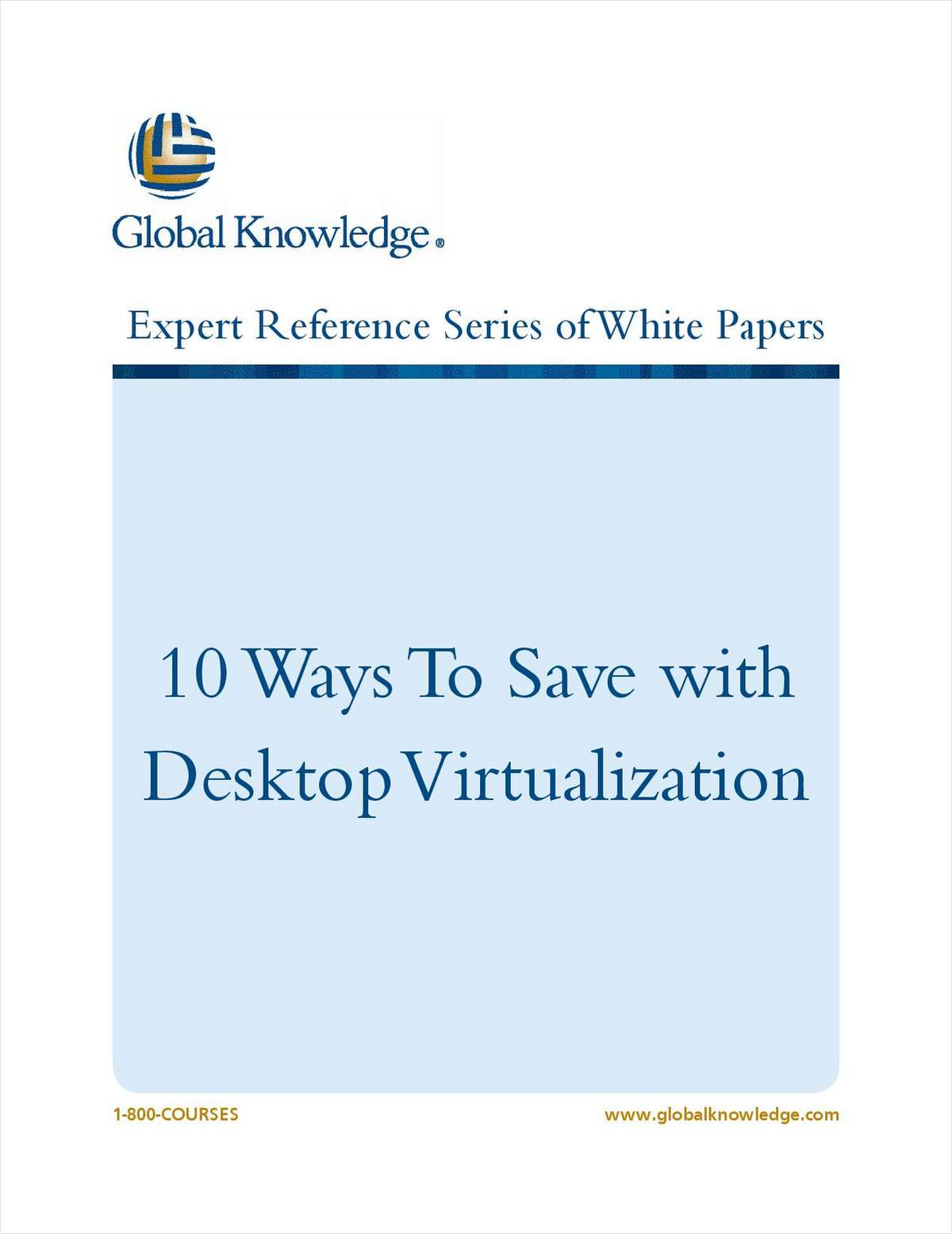 10 Ways to Save with Desktop Virtualization