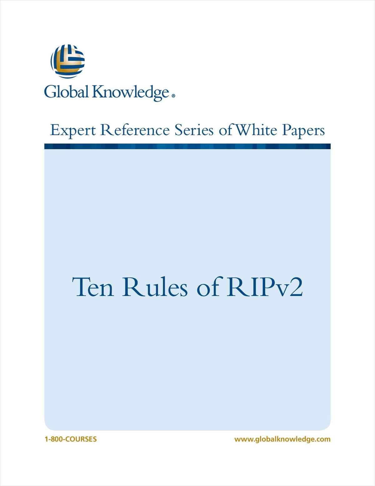 Ten Rules of RIPv2