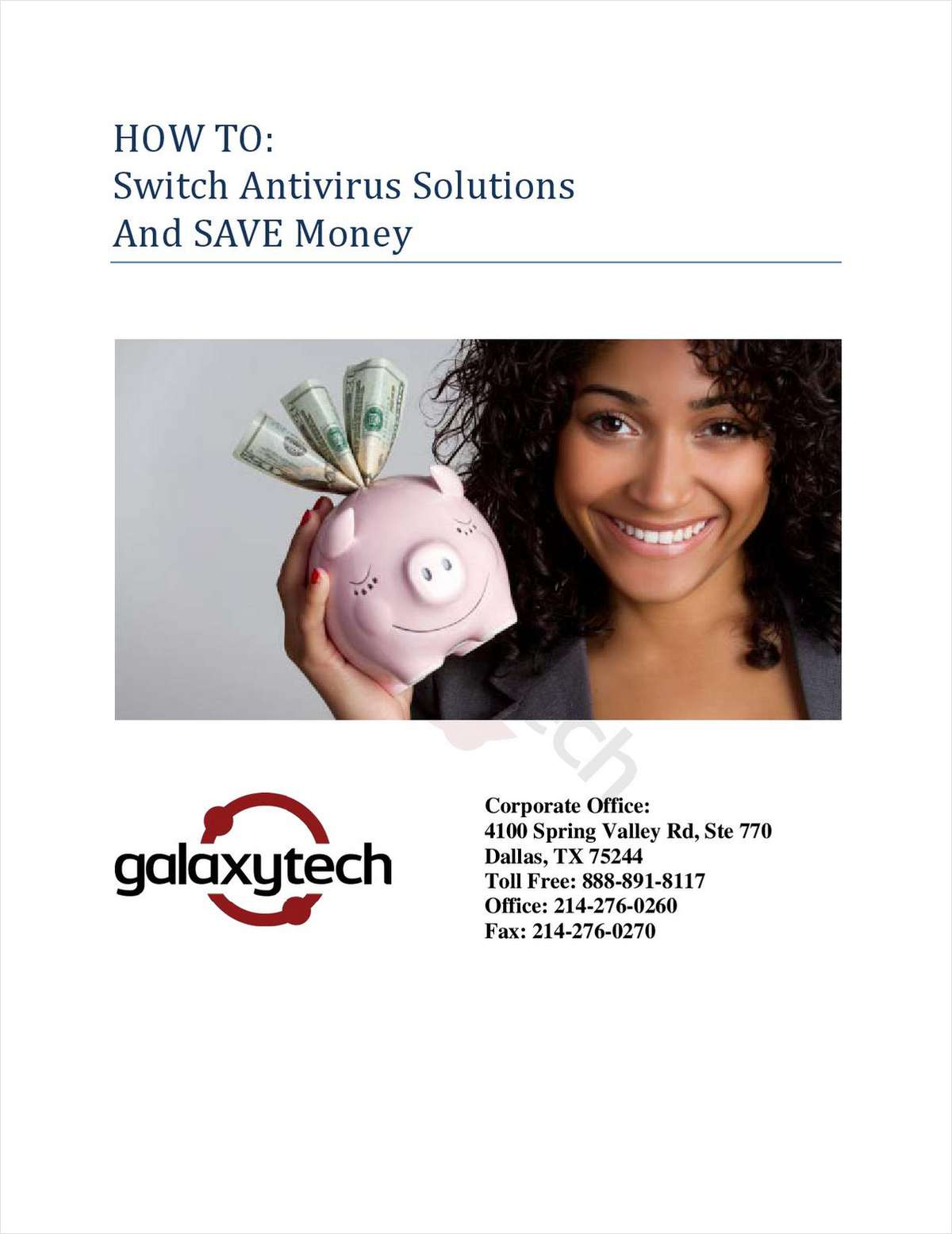 Learn How To Save Money by Switching Antivirus Solutions