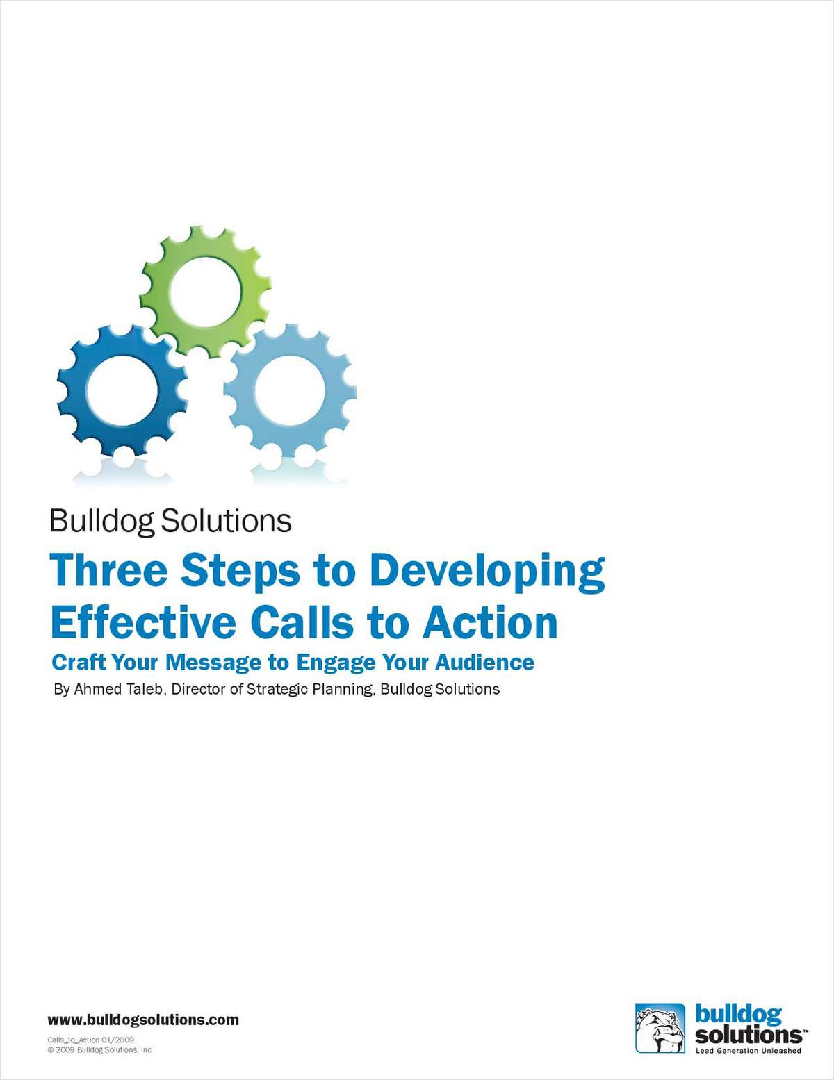 3 Steps to Developing Effective Calls to Action