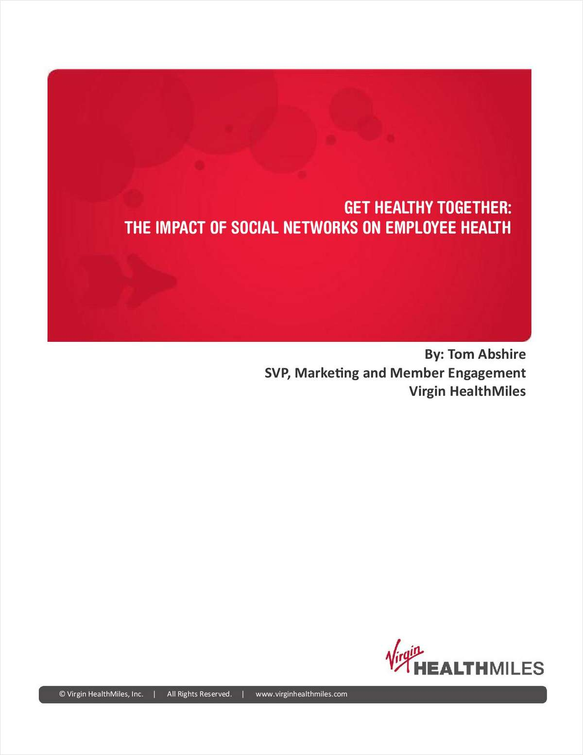 Get Healthy - Together: The Impact of Social Networks on Employee Health