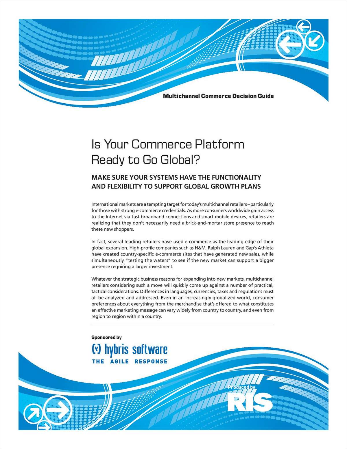 Is Your B2C Commerce Platform Ready to Go Global?