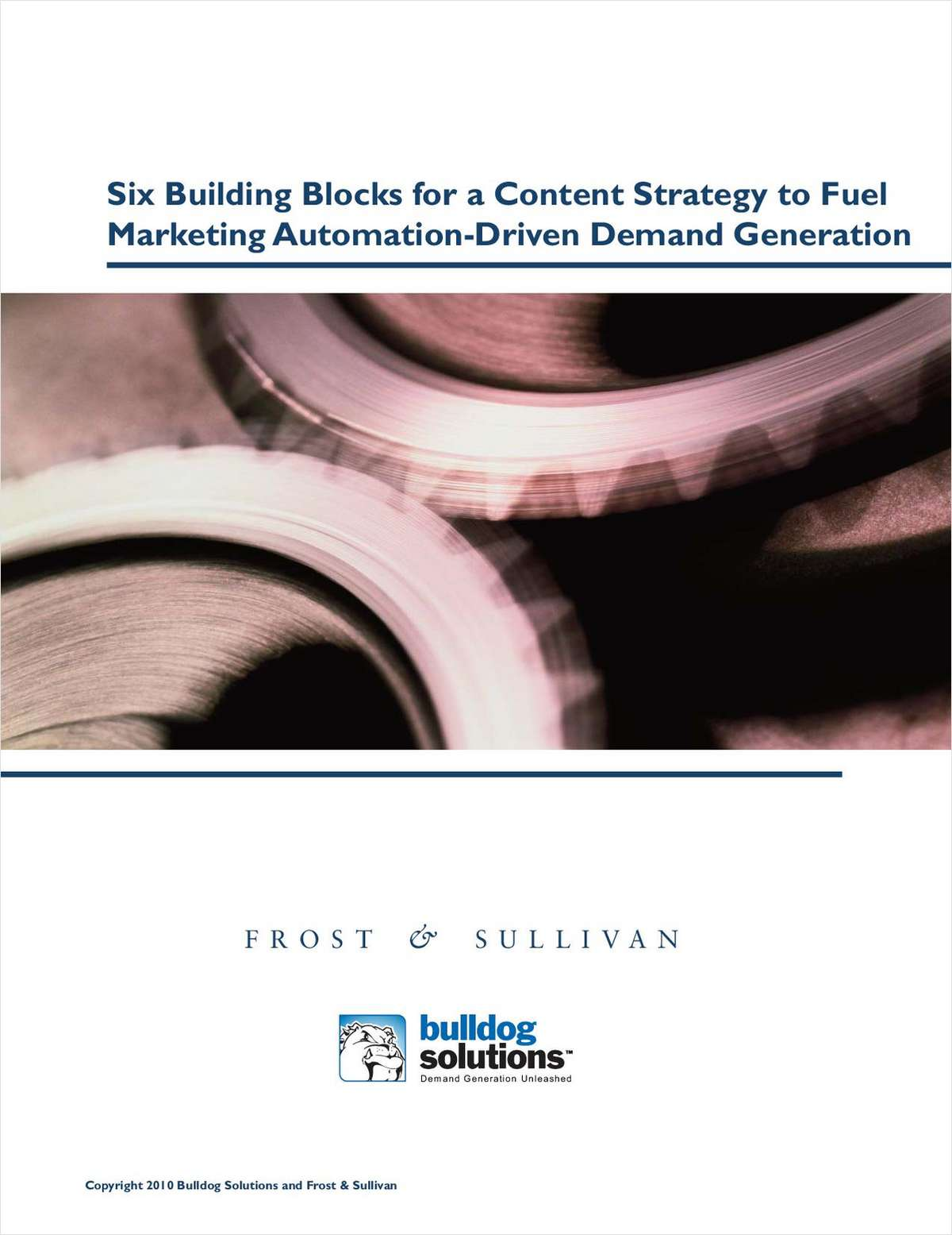 A Content Strategy for Marketing Automation-Driven Demand Generation