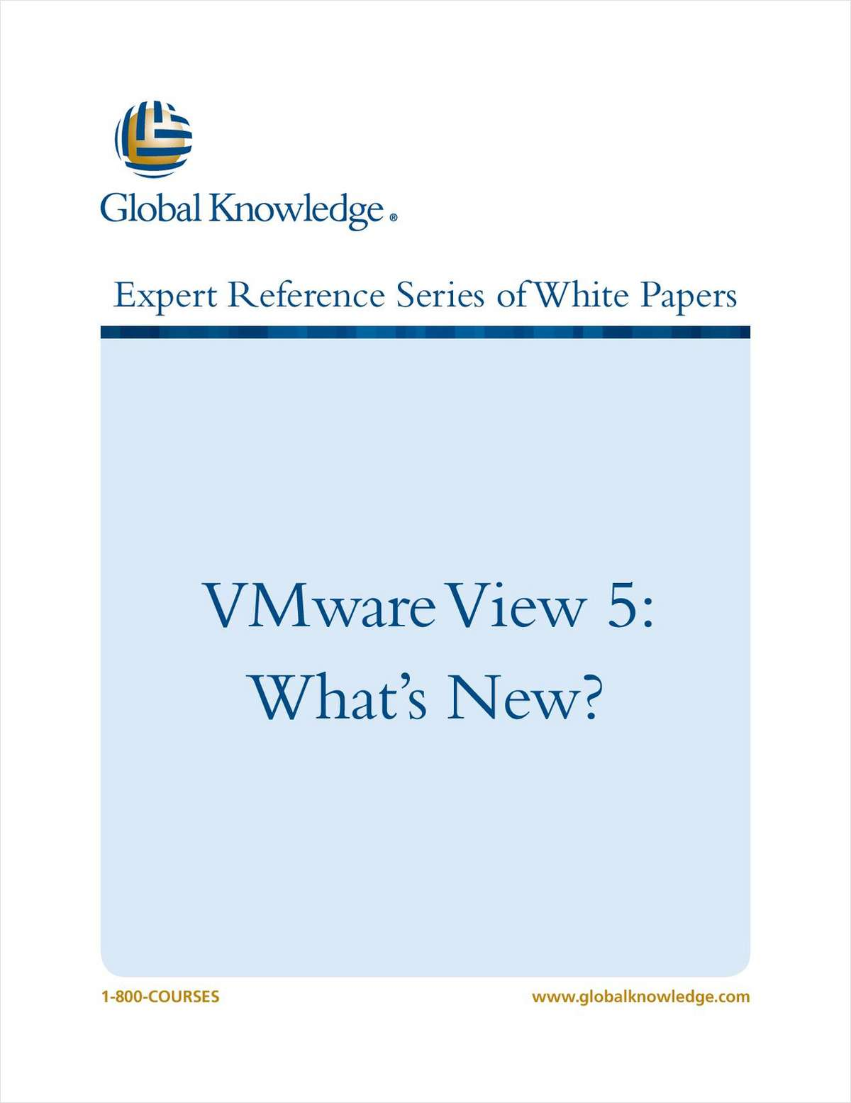 VMware View 5: What's New?
