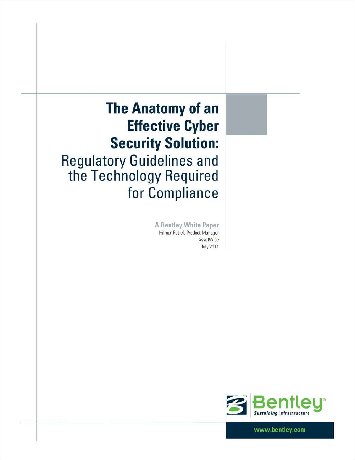 The Anatomy of an Effective Nuclear Cyber Security Solution