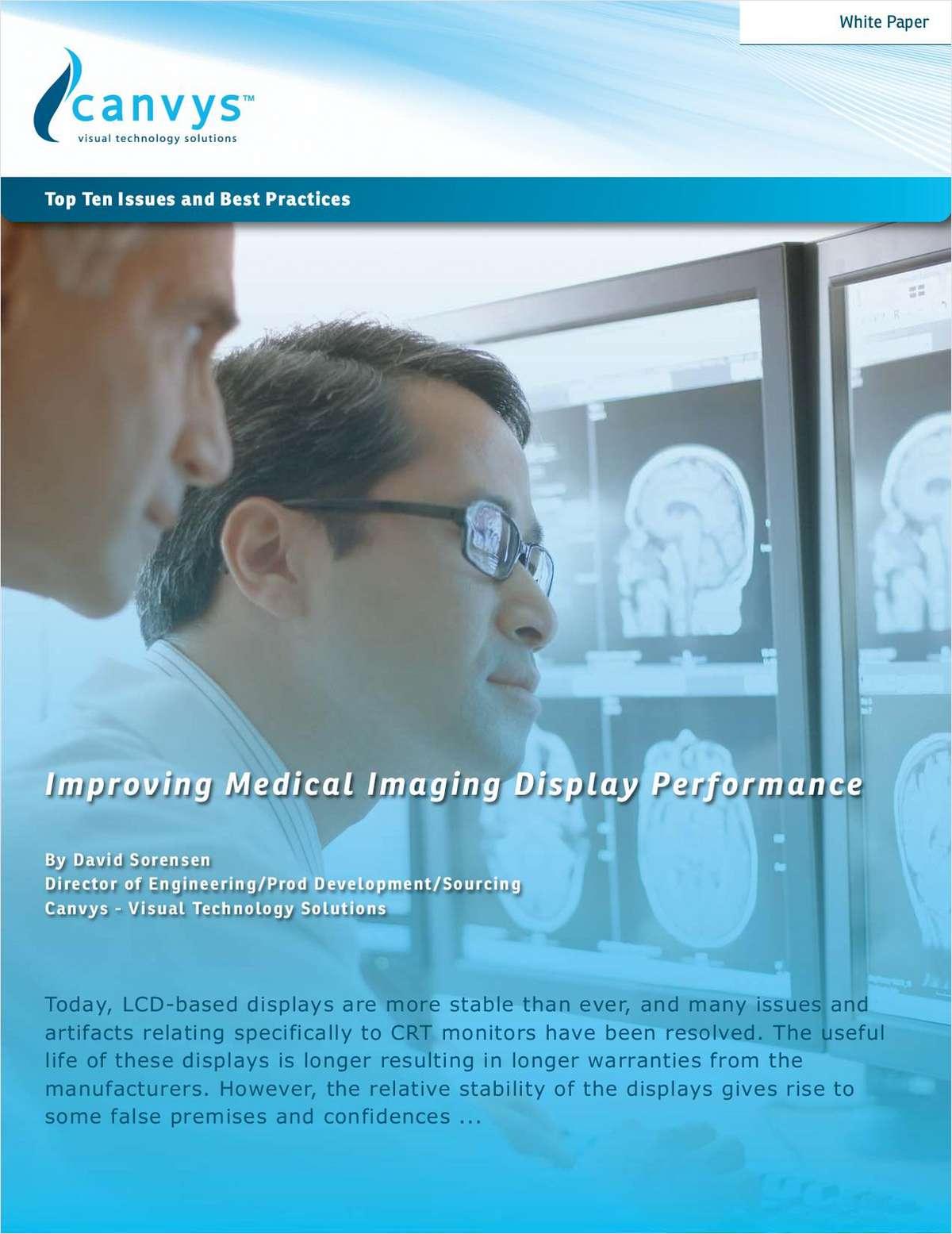 Improving Medical Imaging Display Performance