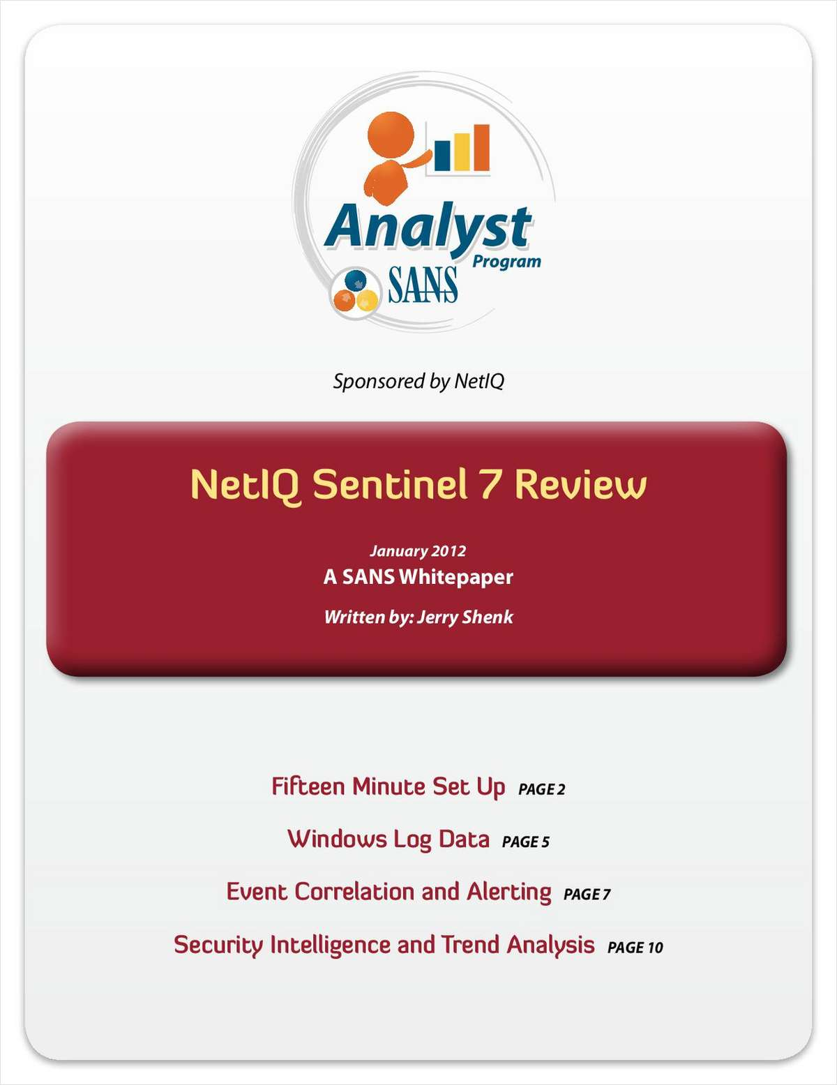 SANS Review of NetIQ Sentinel 7