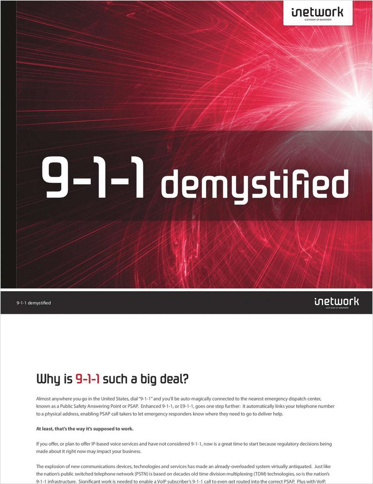 9-1-1 Demystified: What Voice App Developers and Service Providers Need to Know